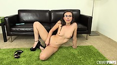 Casey Calvert will impress the fuck out of you with her masturbation skills