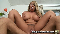 Heather Summers rides his big cock and shows her ass off for the camera
