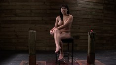 Exotic nympho with big hooters Mia Li loves submission and hard meat
