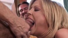 Stacked Blonde Wife Lya Fucks A Stranger To Please Her Kinky Husband