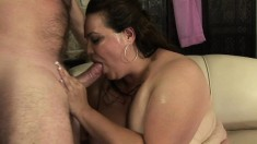 Angelina Largo gets her cunt smashed by a dude desperate for action