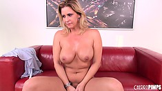 Phyllisha Anne and her dangerously large thighs share a sex toy