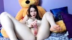 Great amateur video of Teen masturbation video