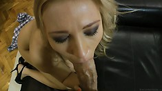 Slutty Blonde Babe Gets Banged In One Of Rocco's Hardcore Povs