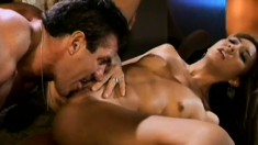Yummy prostitute with awesome pussy Keeani Lei Asian gives her ass to big-dicked guy