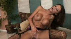 Mom's tight little ass getting more thick cock than she could have hoped for